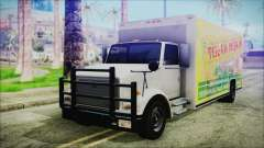 Indonesian Benson Truck Not In Real Life Version for GTA San Andreas