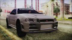 Nissan Skyline Nismo Body Kit for GTA San Andreas