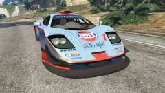 McLaren F1 GTR Longtail [Gulf] for GTA 5