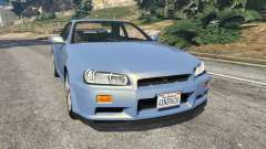 Nissan Skyline R34 2002 for GTA 5
