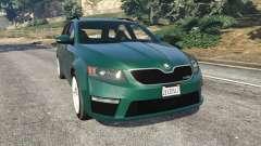 Skoda Octavia VRS 2014 [estate] for GTA 5