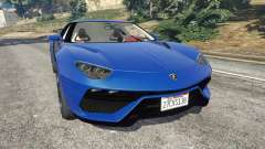 Lamborghini Asterion 2015 for GTA 5