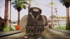 XOF Soldier (Metal Gear Solid V Ground Zeroes) for GTA San Andreas