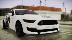 Ford Mustang Shelby GT350R 2016 Kirito Itasha for GTA San Andreas