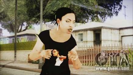 Left 4 Dead Rochelle for GTA San Andreas