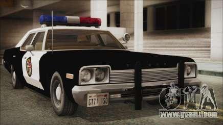 Dodge Monaco 1974 LSPD for GTA San Andreas