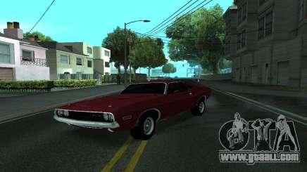Dodge Challenger Tunable for GTA San Andreas