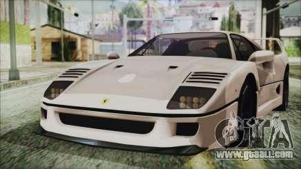 Ferrari F40 Gas Monkey for GTA San Andreas