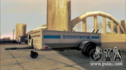 GTA V Utility Trailer for GTA San Andreas