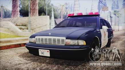Chevrolet Caprice Station Wagon 1993-1996 LSPD for GTA San Andreas