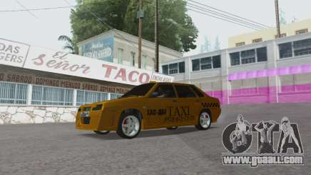 VAZ 21099 Tuning Russian Taxi for GTA San Andreas