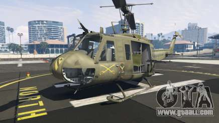 Bell UH-1D Iroquois Huey for GTA 5