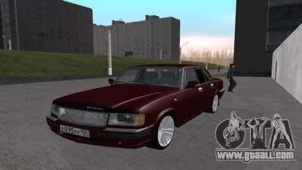 GAZ 31105 cherry for GTA San Andreas