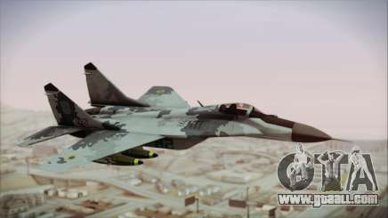 MIG-29 Fulcrum Ukrainian Falcons for GTA San Andreas