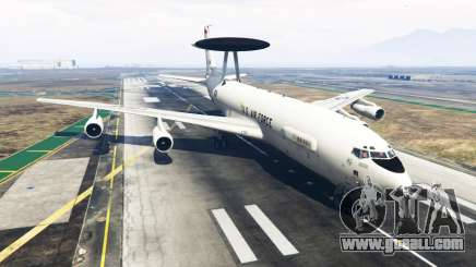 Boeing E-3 Sentry for GTA 5