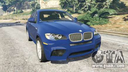 BMW X6 M (E71) v1.5 for GTA 5
