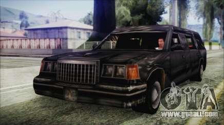 The Romeros Hearse for GTA San Andreas