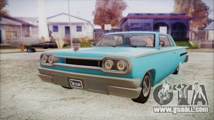 GTA 5 Declasse Clean Voodoo Bobble Version IVF for GTA San Andreas