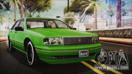 GTA 5 Albany Primo Custom No Interior IVF for GTA San Andreas