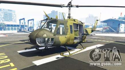 Bell UH-1D Huey Bundeswehr for GTA 5