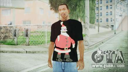 Santa T-Shirt for GTA San Andreas