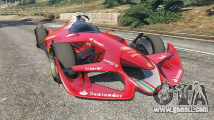 Ferrari F1 Concept for GTA 5