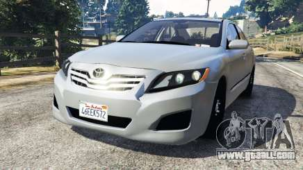 Toyota Camry 2011 for GTA 5