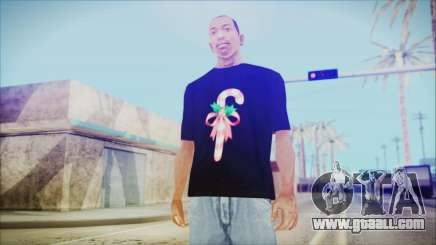 T-Shirt Cane Christmas for GTA San Andreas