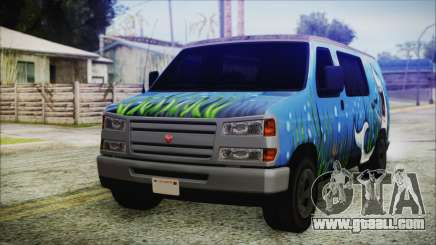 GTA 5 Bravado Paradise Shark Artwork for GTA San Andreas