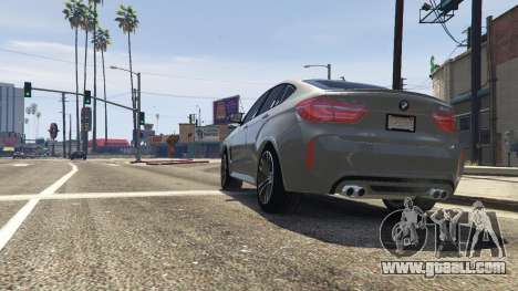 GTA 5 BMW X6M F16 Final back view