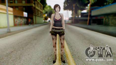 Fatal Frame 4 Misaki Punk Outfit for GTA San Andreas second screenshot
