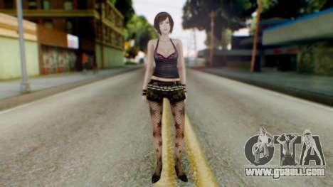 Fatal Frame 4 Misaki Punk Outfit for GTA San Andreas second screenshot