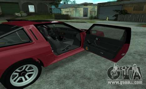 Mitsubishi Starion ECI-R for GTA San Andreas side view