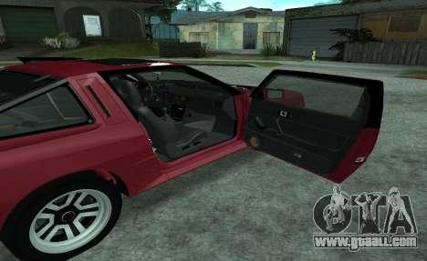 Mitsubishi Starion ECI-R for GTA San Andreas side view