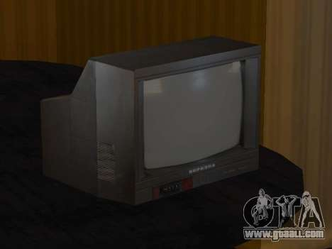 TV birch 37ТЦ-5141Д for GTA San Andreas