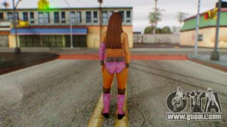 Layla WWE for GTA San Andreas third screenshot