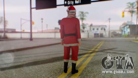 GTA Online Festive Surprise Skin 2 for GTA San Andreas third screenshot