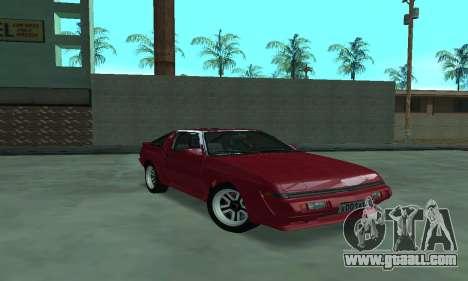 Mitsubishi Starion ECI-R for GTA San Andreas