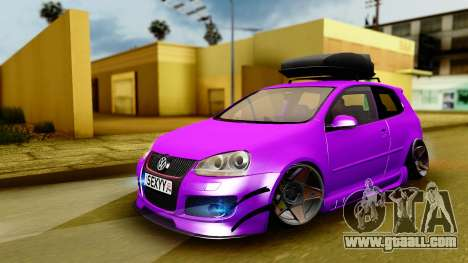 Volkswagen Golf Mk5 Stanced for GTA San Andreas
