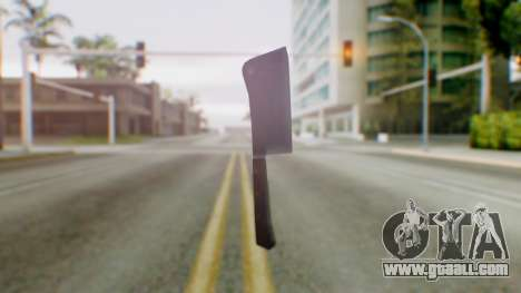 Vice City Meat Cleaver for GTA San Andreas