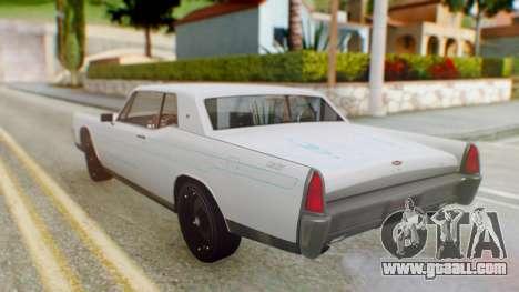 GTA 5 Vapid Chino Tunable PJ for GTA San Andreas inner view