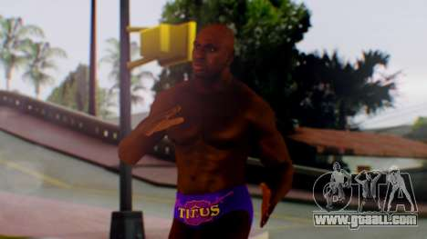 Titus ONeil for GTA San Andreas