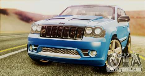 Jeep Grand Cherokee SRT8 Final version for GTA San Andreas right view