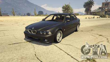 BMW M5 E39 1.1 for GTA 5