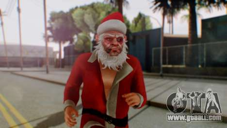 GTA Online Festive Surprise Skin 2 for GTA San Andreas