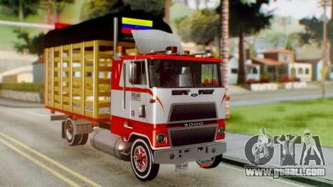 Ford 9000 Con Estacas Stylo Colombia for GTA San Andreas