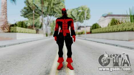 Spider-Man Shattered Dimensions - Deadpool for GTA San Andreas second screenshot