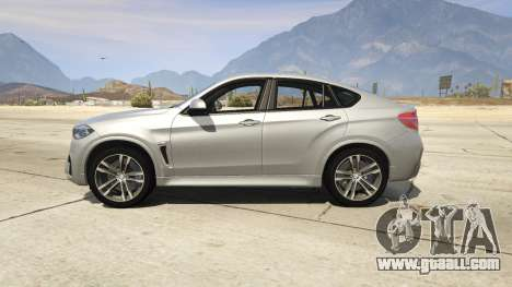 GTA 5 BMW X6M F16 Final left side view