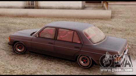 Mercedes-Benz 450SEL for GTA San Andreas back left view