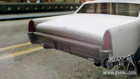 GTA 5 Vapid Chino Tunable IVF PJ for GTA San Andreas back view